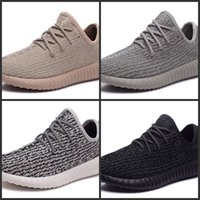 Wholesale High Quality Boost Running shoe For Women Men Kanye Milan West Athletic shoes Sport Sneakers US5