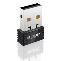 Wholesale Mini M USB WiFi Wireless LAN n g b Adapter Nano Network Mbps EDUP EP N8531 Free DHL
