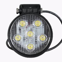led mining light - 18w inch Led Mining Lights Driving Working light Offroad Headlight IP67 Waterproof v v Car Round LED Lamp Light