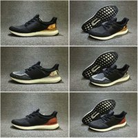 Wholesale Drop Shipping Famous Originals Ultra Boost BB3929 Gold BB4077 Silver BB4078 Bronze Mens Athletic Running Shoes Size