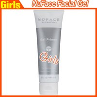 Wholesale NuFace Facial Gel Primer oz Step NEW For Nuface Face massagers ounce gel tubes for Nuface Trinity Device DHl free
