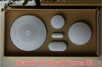 Wholesale 100 Original Xiaomi mi Smart Home Kit Gate way Intelligent Multifunction Wireless Switch Human Body Sensor Door Window Sensor