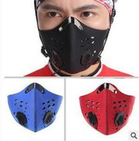 Wholesale rotective Gears Motorcycle Face Mask New Arrival Anti Dust Anti pollution Outdoor Sports Bicycle Bike Motorcycle Racing Ski Half Filter M
