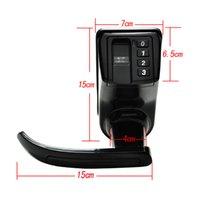 adel lock - ADEL LS911 Black Biometric Digital Fingerprint Door Lock Electronic Keyless Password Door Lock