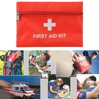 aids fever - Emergency First Aid Kit Pouch Pack Travel Sport Rescue Medical Treatment Bag E00074