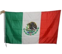 Wholesale Spot cm Mexico ft polyester flags Mexico flag countries to the United Nations Flag Flag custom banner