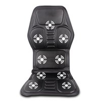 Wholesale Car Home Office Full Body Massage Cushion Heat Vibrate Mattress Back Neck Massage Chair Massage Relaxation Car Seat V