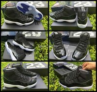 Wholesale 2016 Retro XI Space Jams Mens Basketball Shoes With Real Carbon Fiber Men Retros s Sport Shoes Quality Sneakers