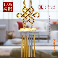 bell fountain - 2015 Special Offer Top Fashion Samurai Armor Decorative Indoor Water Fountains Wind Chimes Hangings Tube Metal Bell Evil Spirits