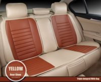 Wholesale Only Rear Universal Leather car seat covers For Renault Koleos megane Scenic Nuolaguna latitude landscape car accessories