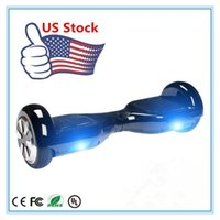 Wholesale USA Warehouse Smart Mini Self Balancing Wheels inch Two Wheels Scooters Electric Skateboard Outdoor Drift Board Hoverboard Drop Shipping