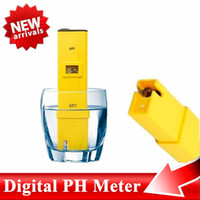 Wholesale LCD Digital PH Meter Water Acid Tester Pen digital Acid Tester ph Meter Pool Water ph Aquarium Portable Acidity Pocket ph meter