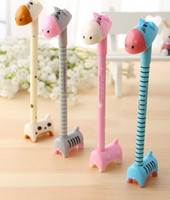art distribution - Little donkey ball pen stationery distribution base Cute cartoon creative pen Office stationery gift decoration