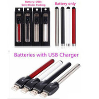 battery charger usa - Bud touch vape pen battery and usb charger O Pen buttonless Thread PACK hot in USA