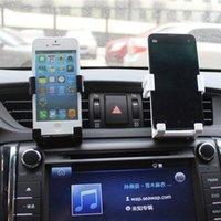 adjustable vent - Fashion Car Holder Adjustable Mobile Phone Holder Car Air Vent Mount Cradle For iphone Mobile Phone