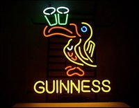 beer glass new - NEW Guinness Beer Toucan Glass Neon Sign Light Beer Bar Pub Sign Arts Crafts Gifts Sign quot