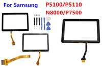 Wholesale for Samsung Galaxy Tab P5100 P5110 NOTE N8000 N8010 P7500 Front Outer Glass Panel Touch Screen Digitizer Adhesive Replacement Parts