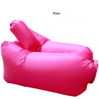 bean bag chairs for adults - Outdoor Convenient Inflatable Lounger Polyester Fibre Sleeping Compression Air Bag Hangout Bean Bag Portable Dream Chair For Beach Travellin