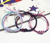 bee wig - 2016 Brand New Hot Bee Knot Hair Tie Mix Color Hair Accessories Bands Rubber Bands Headwear