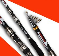 Wholesale 3 m Fly Rod Carbon Fiber Action Fishing Rod With Cordura Tube Fishing Rod