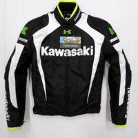 armor motos - 2015 Body Armor Motos Men New Arrival Kawasaki Winter Automobile Race Clothing Motorcycle Thermal Removable Liner Flanchard