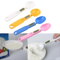 Wholesale Popular g Digital LCD Measuring Food Kitchen Lab Electronic Spoon Weight Scale hot