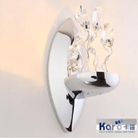 lmpara de pared moderna libre krbd del arte de la nueva de la alta calidad del estilo de la manera del diseador de la original cristalina de lujo de