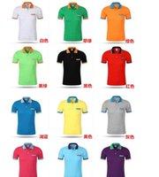 Wholesale 2016Wholesale Summer Men s Cotton Men s cotton Polo shirt Quick Dry Embroidery Crocodile Logo Casual Shirt LS plus size DHL Free