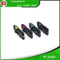 Wholesale Dell Compatible Toner Cartridges for Dell C2660 BK C M Y Hot sales with good quality
