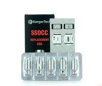 al por mayor termostato de reemplazo-Kangertech SSOCC atomizador REPLACEMENT COIL NEBOX E-cigarrillo atomizador COIL 0,15 Bobinas de termostato / 0,5 Ohm / 1,2 Ohm / 1,5 Ohm / 1,8 Ohm