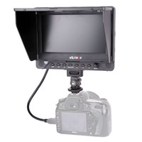 Wholesale 7 Viltrox DC EX HD Clip on HDMI SDI AV Input Output Camera Video LCD Monitor Display for Canon Nikon Pentax Olympus DSLR