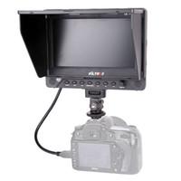 Lcd moniteur d'affichage vidéo France-7 '' Viltrox DC-70EX HD Clip-on HDMI / SDI / AV Entrée Sortie Caméra Vidéo Moniteur LCD pour Canon Nikon Pentax Olympus DSLR