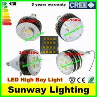 Wholesale CREE W W W W W W W W Led E27 E40 Hook High Bay Light Bulbs Industrial Shop Lights Warehouse Supermarket Lighting
