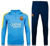 barcelona league - 2015 UEFA Champions League Barcelona soccer training uniforms soccer sportswear Thailand s finest jerseys