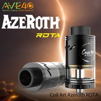 art big - Coil Art Azeroth RDTA mm Diameter ml Big Juice Capacity SUS304 stainless steel Update Coilart Mage RTA