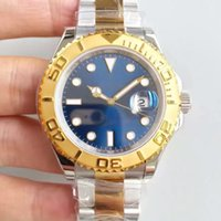 accurate auto - JF boutique yacht Series Gold Blue Dial ETA2836 movement accurate travel time