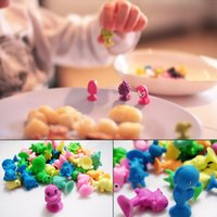 Wholesale New Arrival Animal Action Figures Toy Stikeez Sucker Suction Kids Toys Mini Capsule Cartoon Cupule Children Birthday Gift