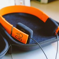 bang headphones - High volum Denmark Bang olufsen FORM2 headset Orange Royal Aristocracy Stereo HIFI headphone color B O FORM2 music headset for iphone iPad