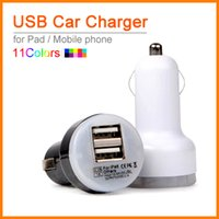 best protection ipad - Best Quality Auto Universal Dual USB Car Charger For iPad for iPhone for Mobile Phone V A Short Circuit Protection