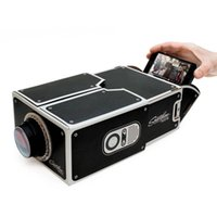 Wholesale In business DIY smartphone projector No power supply DIY smart phone projector foreign trade selling explosion models