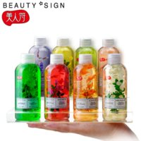 Wholesale Shower Gels Skin care Good mood flower essential oil bath dew ml Body Whitening Moisturizing