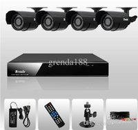 Wholesale CCTV DVR CH H Surveillance DVR Day Night Weatherproof Security Camera CCTV System