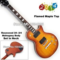 color flame - Standard LP Electric Guitar Flamed Maple Top TA and All Color are available High Quality and Retail
