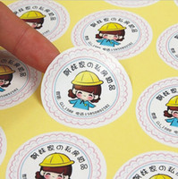 Wholesale Custom Logo Sticker Customized Printing Adhesive Paper Label Printed Sticker
