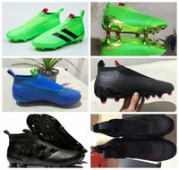 air zoom control - Children ACE PureCOntROl Fg FooTbaLls BOOTs Green Black Blue White ACE Pure Control Cleats SOcCEr Shoes Mens Original Quality