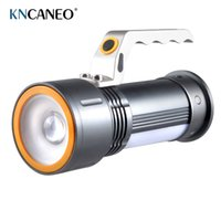 Wholesale 2016 new Aluminium Led SearchLights Strong Light W Rechargeable Portable Torch Light Rechargeable hunting lights
