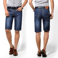 baggy jean shorts - Famous Brand Men Denim Jean Capri Short Famous Designer Fashion Blue Wash Baggy Plus Size Short Business Mens Jeans Pants