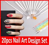 Wholesale New Nail Art UV Gel Design Painting Pen Brush Set for Salon Manicure DIY Tool