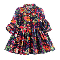beautiful baby dresses - 2016 Newest baby girl infant toddler beautiful dress princess dress long sleeve bowknot dress for BABY GIRL