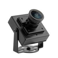 al por mayor cajas de cable digital-Inicio 700TVL CMOS con cable Mini Micro CCTV Digital Caja de Seguridad Cámara Lente Gran Angular